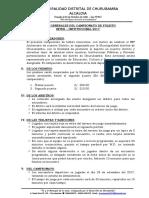 Bases de Fulbito Inter Institucional