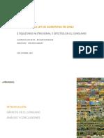 Impacto Ley Alimentos Chile Euromonitor