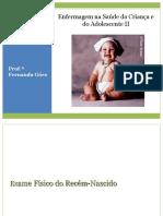 ENFERMAGEM DA SAÚDE DA CRIANÇA E DO ADOLESCENTE