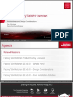Rockwell Automation TechED 2017 - In06 - FactoryTalk Historian Site Edition Architectures and Design Considerations