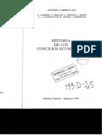 Historia de los Concilios