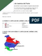 Países y Capitales de América Del Norte