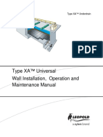 XYLEM - Type XA Modules