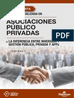 La diferencia entre Inversión y Gestión Pública, Privada y APP