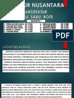 Kelompok 1 Belu Sabu Rote .... Arch 15