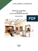 Designul Interior Salon Infrumus Ind Metod DS