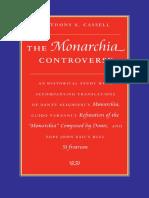 Anthony CASSELL, La Controversia Alrededor Al de Monarchi, La Refutacion de Vernani y La Bula Papal Si Fratrum