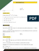 Gabarito IME2014a Objetivas Matematica