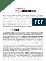 Cuatro Pistas Para Comprender el Arte Actual