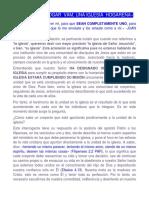1227. Intercesión Juan 17 EXAMINÁNDONOS