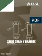 Serie Drain Drainex 100 Ft