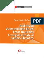 Análisis de Vulnerabilidad de las Áreas Naturales Protegidas frente al Cambio Climático - PERU