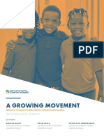 National Alliance of Public Charter Schools enrollment report