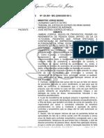 STJ - Acórdão Data DJe 25-04-2011 - HC Desvio de Proventos Idosa