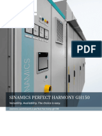 Sinamics Perfect Harmony Gh150 Cellbased Drive Brochure en 2017