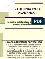 12 La Liturgia en La Alabanza