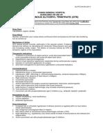 Glyceryl Trinitrate (GTN)