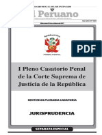 I Pleno Casatorio Penal