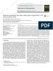 Boundary Permeability and Online–Offline Hybrid Organization a Case Study of Suning, China