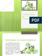 Estrategias de Sustentabilidad