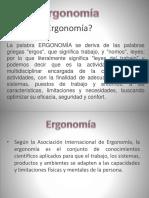 Ergonomia y Efectos en La Salud