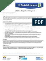 Asthma Children Full Guideline