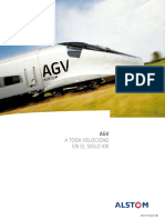 Brochure - Rolling stock - AGV very high speed train - Spanish .pdf