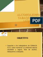 Alcoholismo, Tabaquismo y Ludopatia