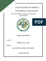 Practica de Laboratorio Determinacion de Mezcla de Solidos - Ingenieria de Alimentos 2 - UNT VJ