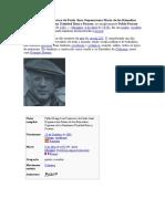 Biografia de Picasso