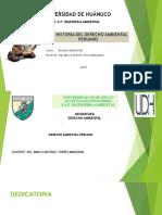 3.- Historia Del Derecho Ambiental Peruano