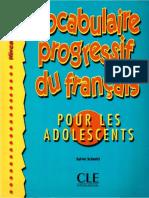 Vocabulaire Progressif Du Francais-pour Les Adolescents