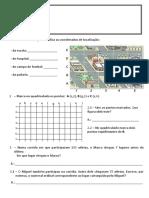 Teste de Matemática 1º Periodo