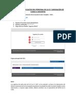 Manual_actualización de Datos Del Personal de La Ie y Asignación de Curso a Docentes