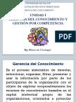 Tema 1 Gerencia Del Conocimiento y Gestion Por Competencia