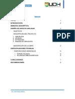 Informe de Diseño de Zapatas Aisladas
