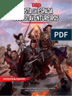 D&D 5E - Costa Da Espada - Guia de Aventureiros (Fundo Branco) - Biblioteca Élfica