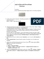 Aplicatii in PowerPoint