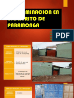 Contaminacion en El Distrito de Paramonga