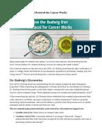 Budwig Diaeta Anticancer