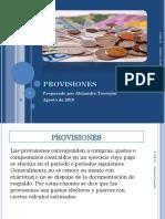 Clase Provisiones