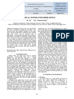 Electrical Power Over Fiber Optics