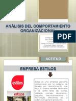 Análisis Del Comportamiento Organizacional DIAPOSITIVAS