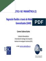 Modelos Aditivos Generalizados (GAM)