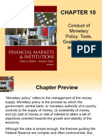 Conduct of Monetary Policy By Misikin