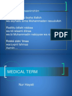 Kuliah Medical Terminology 1_2013