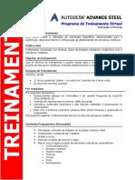 Advance Steel 2018 Programa de Treinamento-Virtual