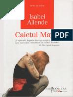 Isabel Allende - Caietul Mayei