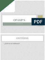 OPAMP's Histeresis