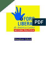 Manifiesto Liberal